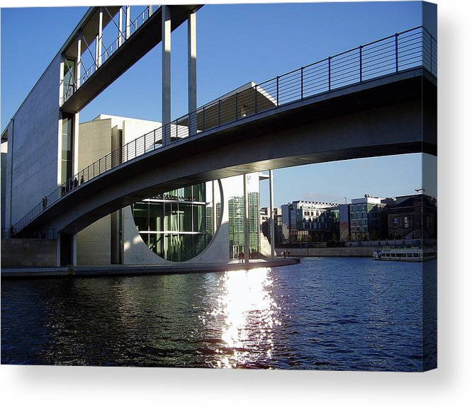 Marie-elisabeth-lueders Acrylic Print featuring the photograph Berlin by Flavia Westerwelle