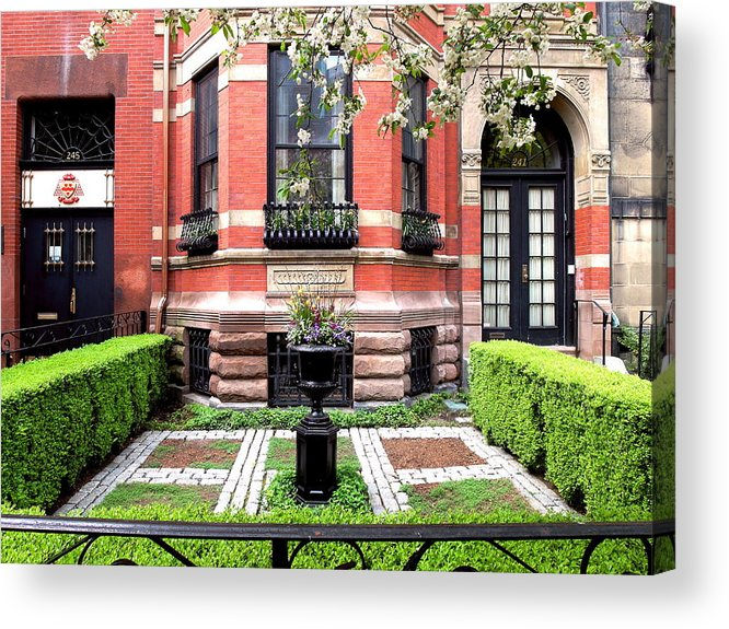 Boston Acrylic Print featuring the photograph Boston's Back Bay by Christopher Brown