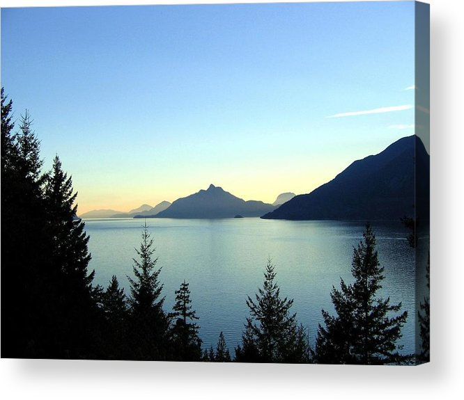 Howe Sound Acrylic Print featuring the photograph Captivating Howe Sound by Will Borden