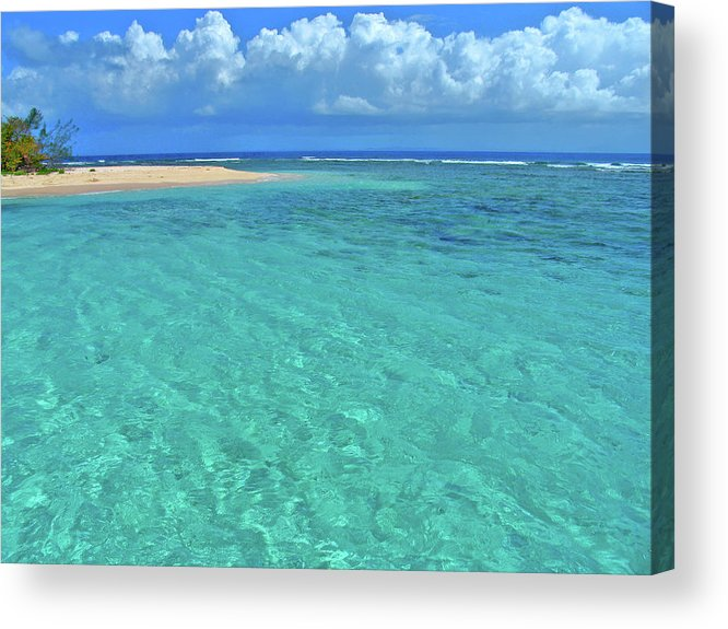 Water Acrylic Print featuring the photograph Caribbean Water by Scott Mahon