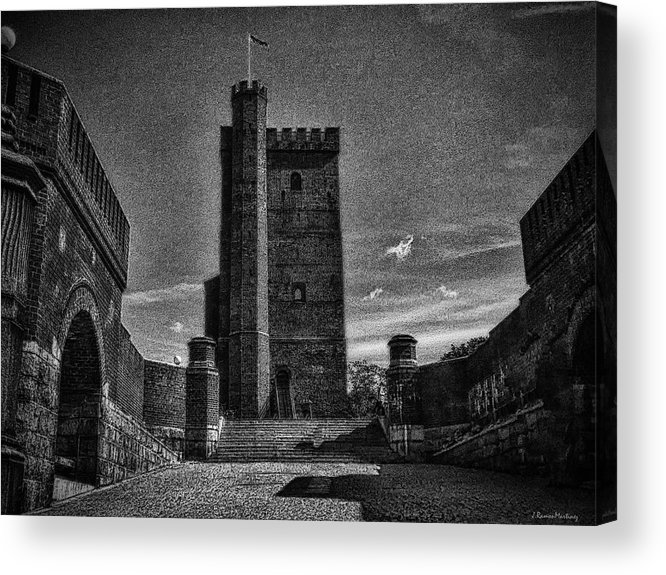 Architecture Acrylic Print featuring the photograph Castle Of Helsingborg by Ramon Martinez