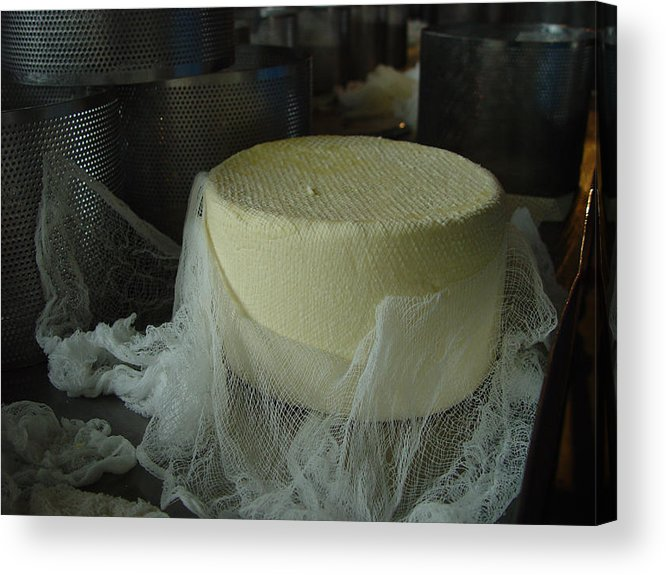 Cheese Acrylic Print featuring the photograph Cheese by Eric Workman