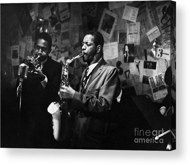 1959 Acrylic Print featuring the photograph Cherry And Coleman, 1959 by Granger