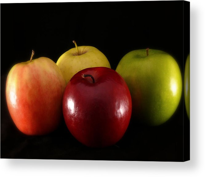 Apple Acrylic Print featuring the photograph Choices by Lucian Badea