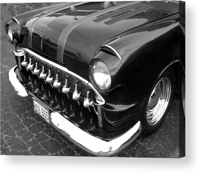 Car Acrylic Print featuring the photograph Classic by Audrey Venute