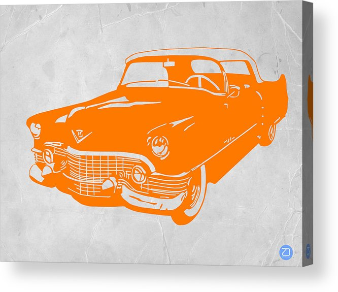 Chevy Acrylic Print featuring the drawing Classic Chevy by Naxart Studio