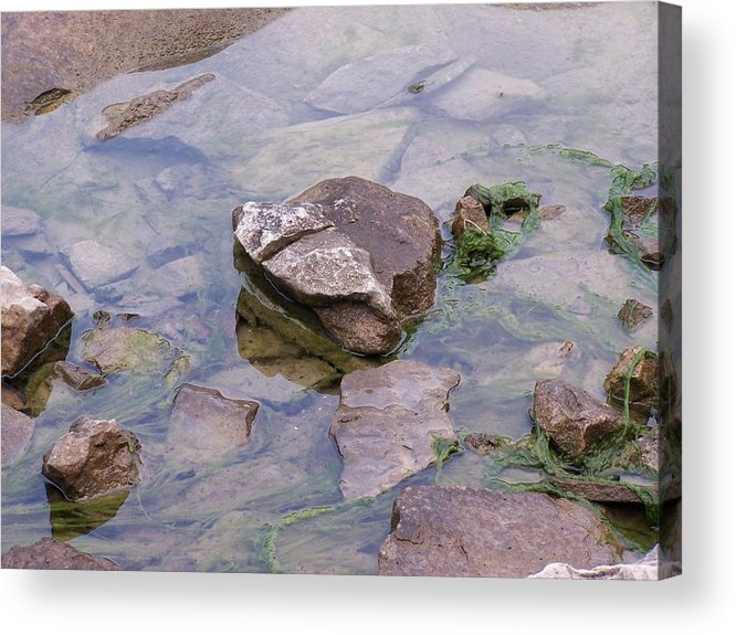 Water Acrylic Print featuring the photograph Clear Waters by Vijay Sharon Govender