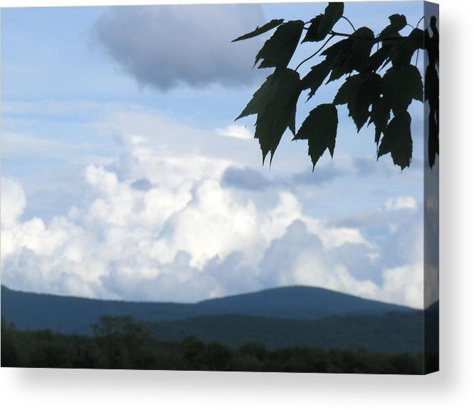 Clouds Acrylic Print featuring the photograph Clouds by James and Vickie Rankin