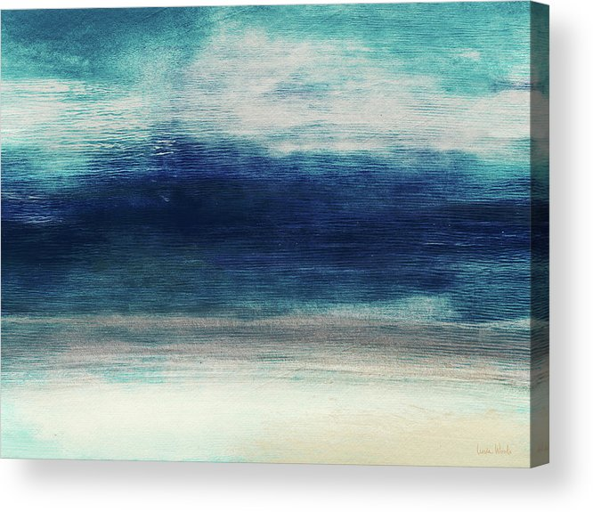 Beach Acrylic Print featuring the mixed media Coastal Escape 2- Art By Linda Woods by Linda Woods