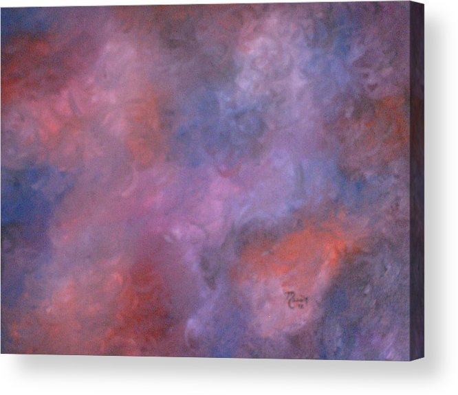 Abstract Art Acrylic Print featuring the painting Colors by Guillermo Mason