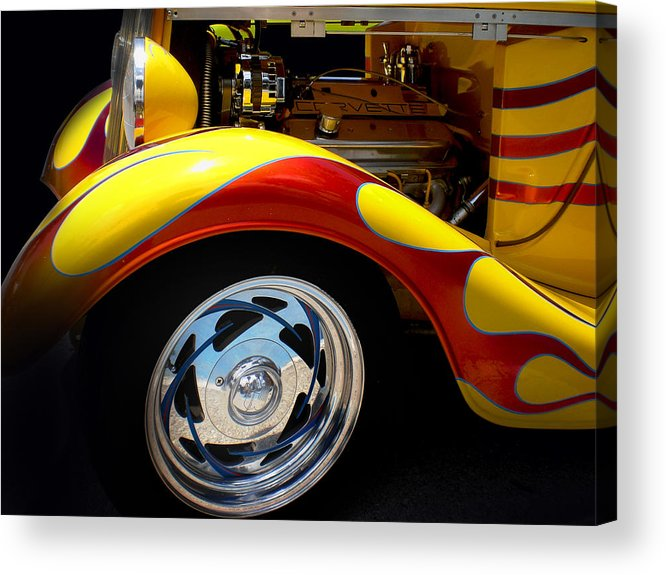 Hot Rod Acrylic Print featuring the photograph Cool Hot Rod by Phil Bishop