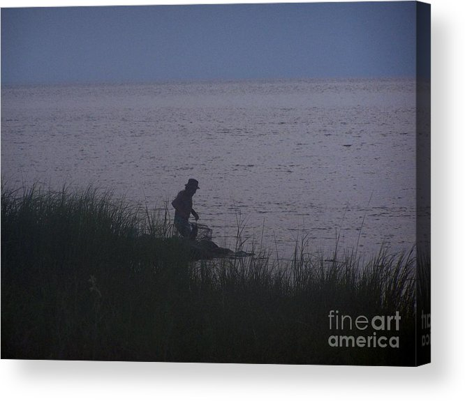 Crabbin Acrylic Print featuring the photograph Crabbin by Randy Edwards