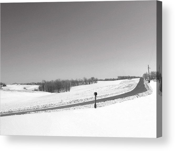 Country Acrylic Print featuring the photograph Craig Hill Rd by Martie DAndrea
