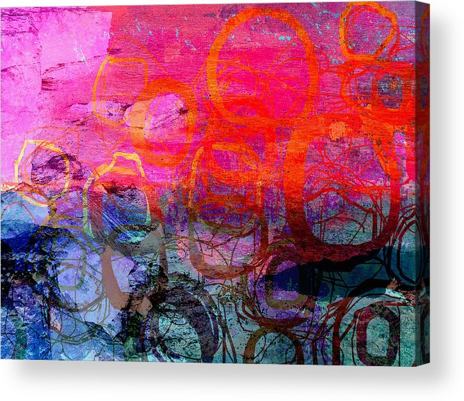 Abstract Acrylic Print featuring the photograph Creation by Suzanne Powers