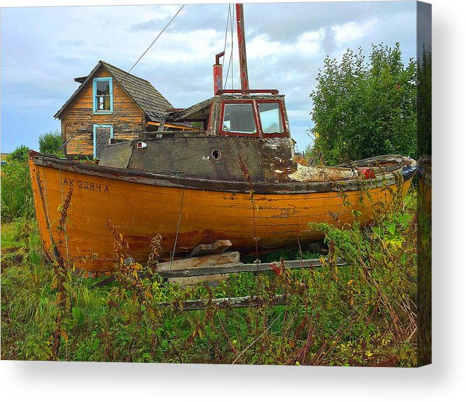 Nautical Acrylic Print featuring the photograph Dry Dock by David Marr