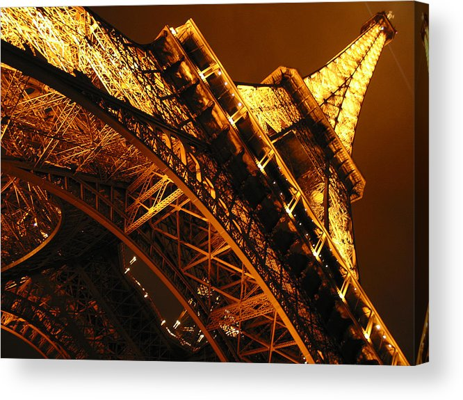 Eiffel Acrylic Print featuring the photograph Eiffel Tower Paris France by Gene Sizemore