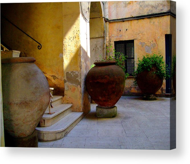 Tarquinia Acrylic Print featuring the photograph Etruscan Tarquinia Italy North Of Rome by Mindy Newman
