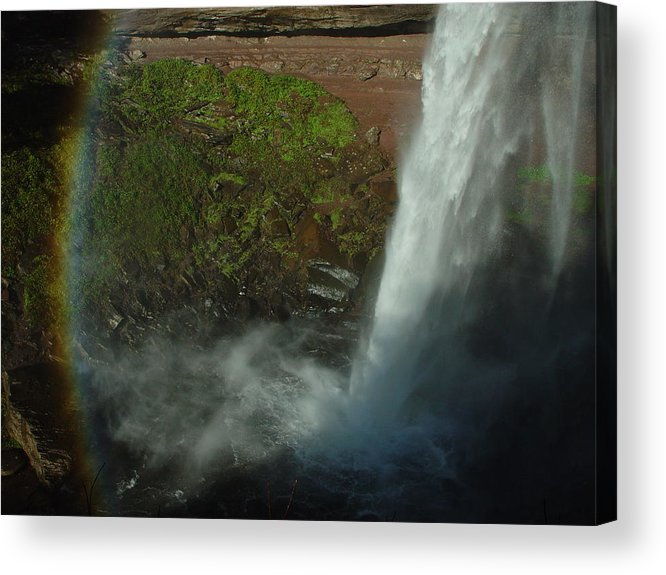 Nature Acrylic Print featuring the photograph Falls 1 by Eric Workman