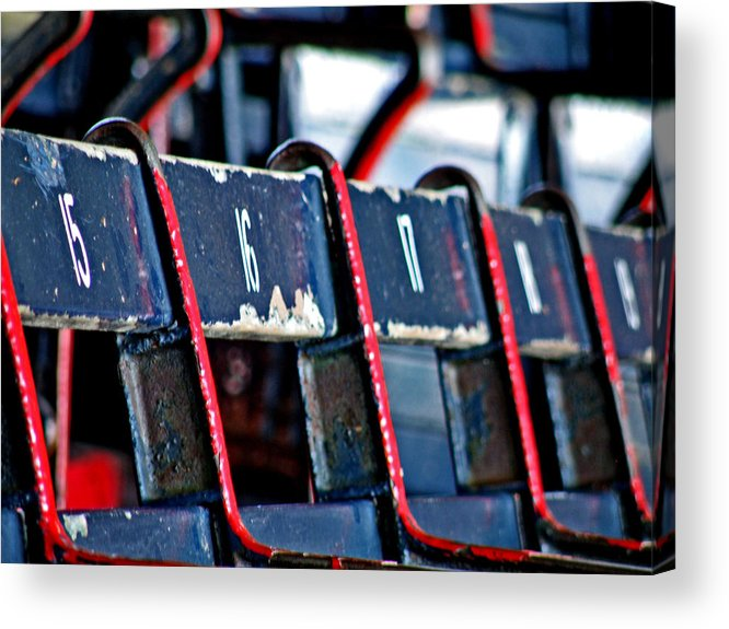 Fenway Park Acrylic Print featuring the photograph Fenway by Donna Shahan