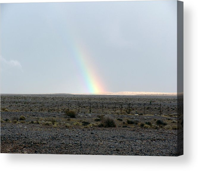 Nevada Acrylic Print featuring the photograph Following The Rain by Kevin Callahan