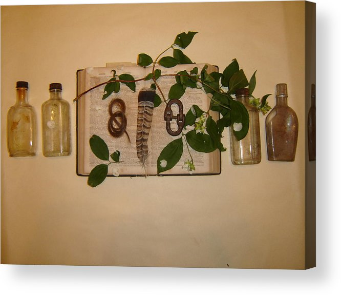 Still Life Acrylic Print featuring the photograph From '26 by Dean Corbin
