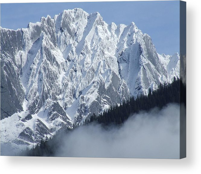 Rocky Acrylic Print featuring the photograph Frozen In Time by Tiffany Vest