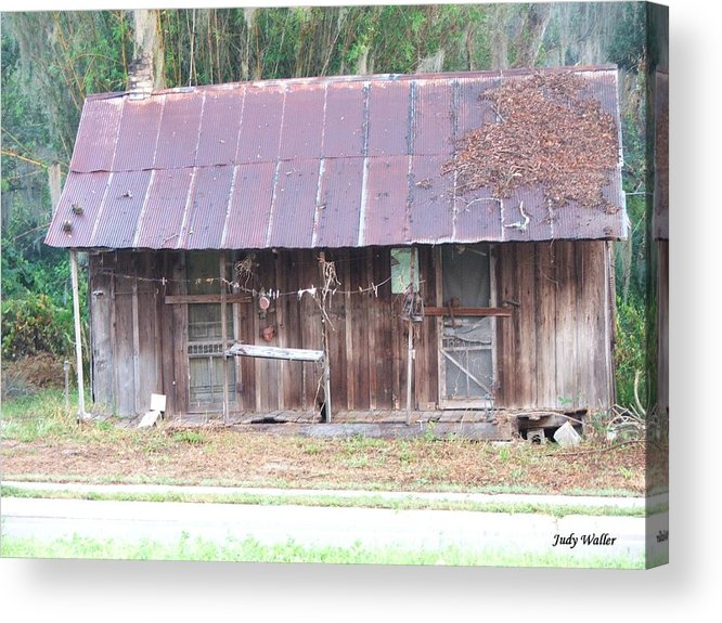 Old Acrylic Print featuring the photograph Grandma by Judy Waller