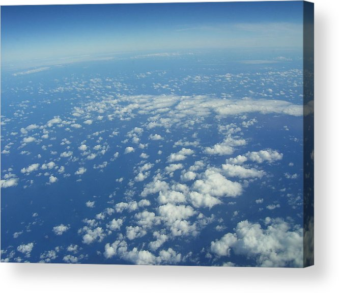 Clouds Acrylic Print featuring the photograph Hawai'i Clouds by Kristen Hurley