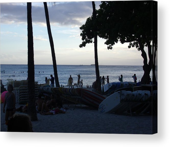 Hawaii Acrylic Print featuring the photograph Hawaiian Afternoon by Daniel Sauceda