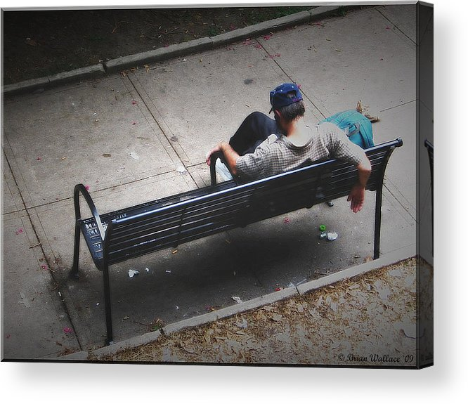 2d Acrylic Print featuring the photograph Hot And Homeless by Brian Wallace