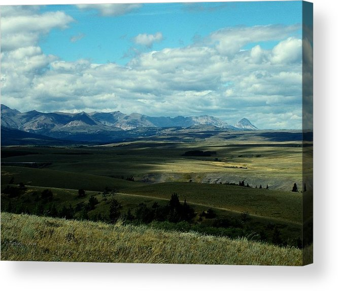 Hudson Bay Divide Acrylic Print featuring the photograph Hudson Bay Divide, From Looking Glass by Tracey Vivar