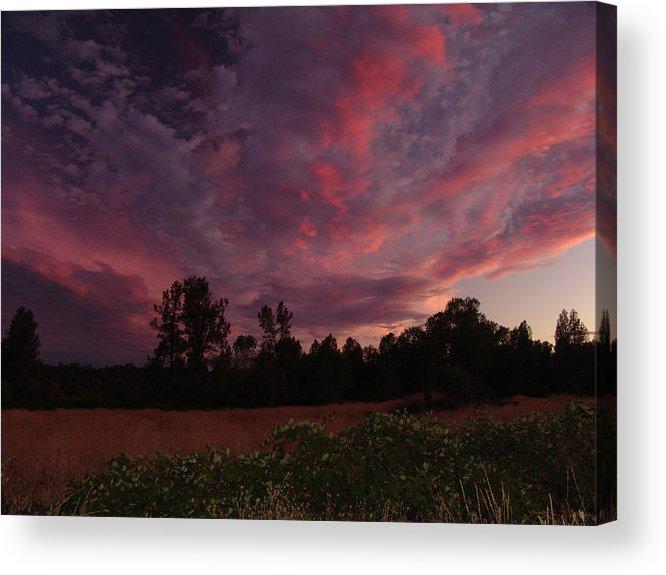 Igo Acrylic Print featuring the photograph Igo Sunset by John Norman Stewart