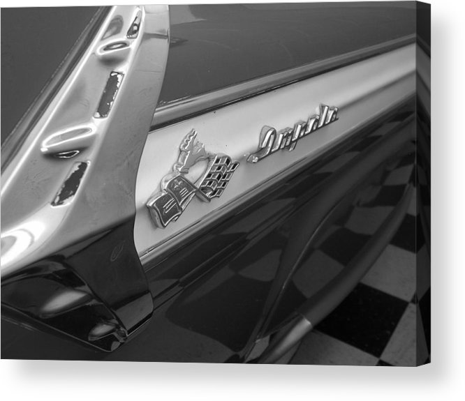Car Acrylic Print featuring the photograph Impala by Audrey Venute