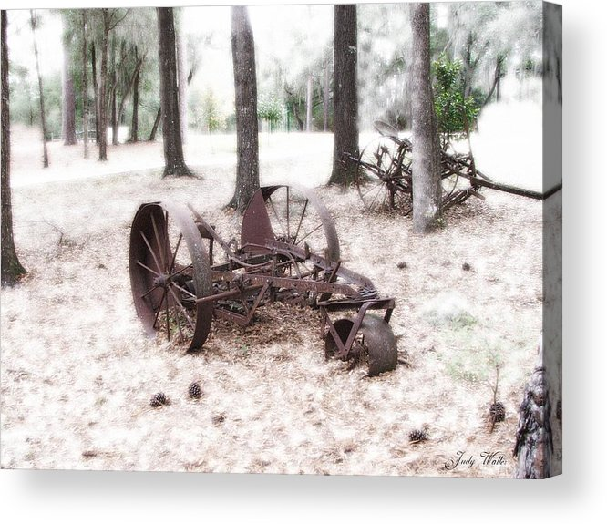 Old Acrylic Print featuring the photograph In Years Past by Judy Waller