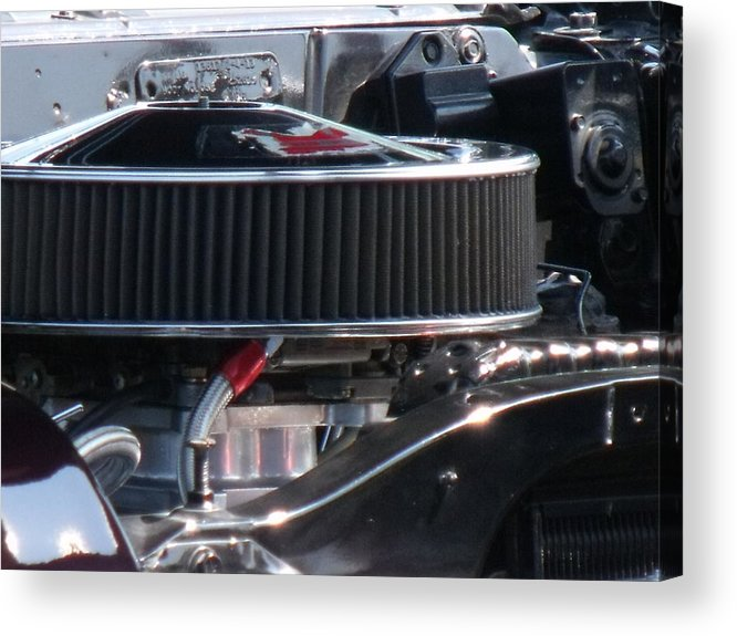 Car Acrylic Print featuring the photograph Intake by Angela Christine