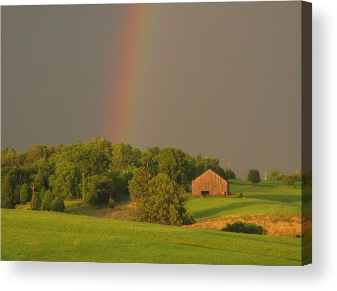 Landscape Acrylic Print featuring the photograph Judys Hope by Martie DAndrea