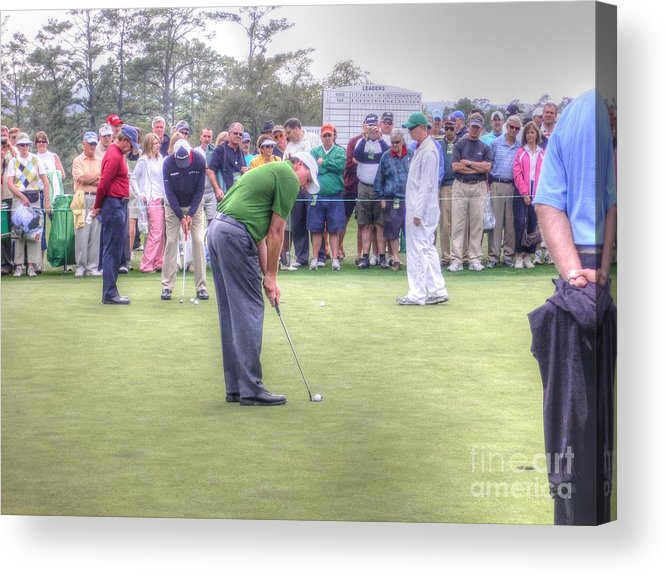 Phil Michelson Acrylic Print featuring the photograph Lefty by David Bearden