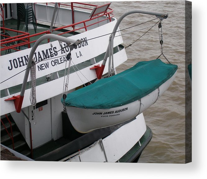 New Orleans Acrylic Print featuring the photograph Lifeboat by Jack Herrington