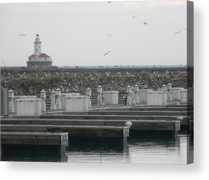 Light House Acrylic Print featuring the photograph Light House by Adam Hernandez