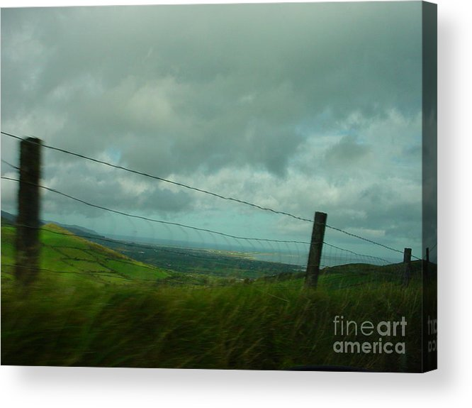 Tralee Bay Acrylic Print featuring the photograph Looking For Tralee by PJ Cloud