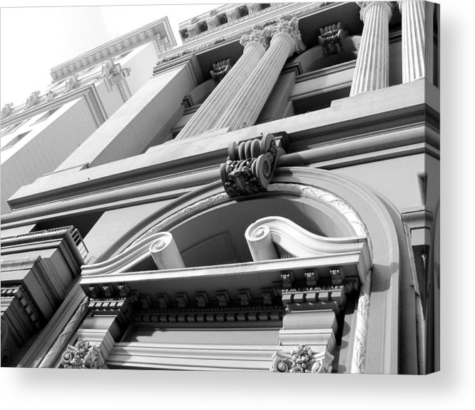 Architecture Acrylic Print featuring the photograph Looking Skyward by Douglas Pike