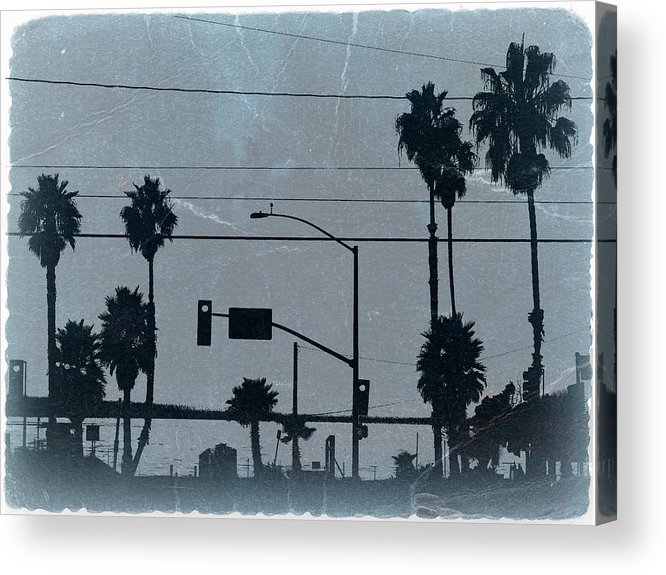 Baywatch Acrylic Print featuring the photograph Los Angeles by Naxart Studio
