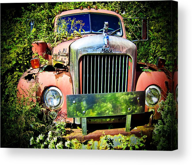 Mack Truck Acrylic Print featuring the photograph Mack by Mark Dottle
