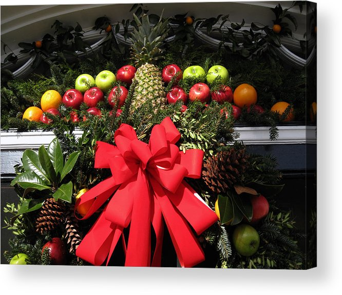 Christmas Cards Acrylic Print featuring the photograph Merry Christmas by Susanne Van Hulst