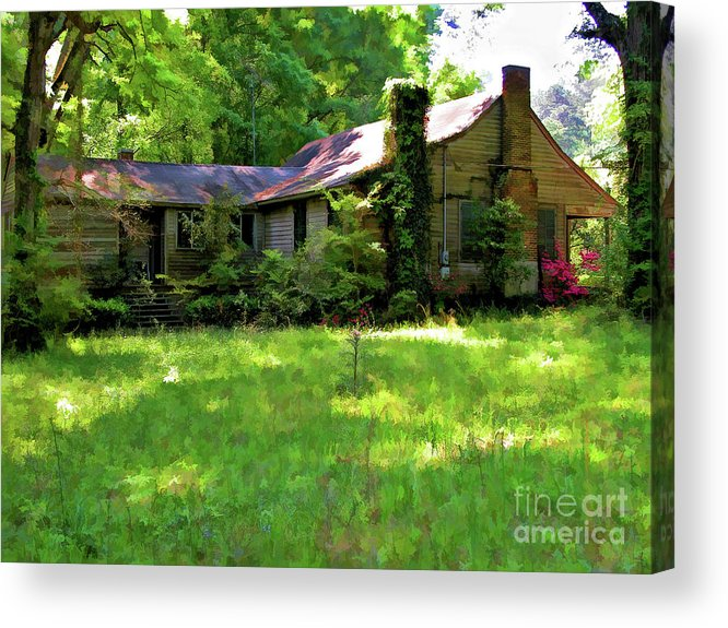 Photography Acrylic Print featuring the photograph Mississippi Country Place by Kathleen K Parker