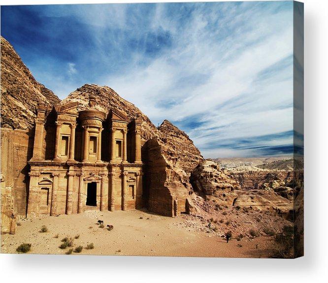Horizontal Acrylic Print featuring the photograph Monastery by Julian Kaesler