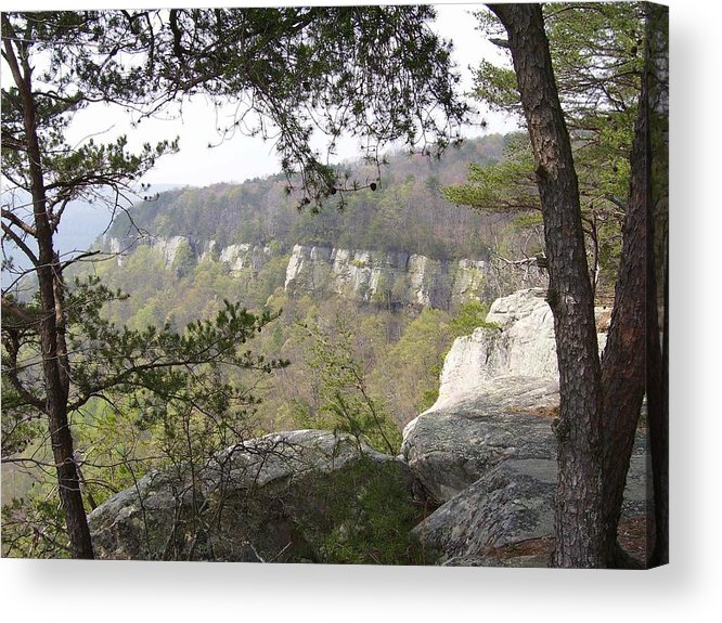 Mountains Acrylic Print featuring the photograph Mountains by Lindsay Clark