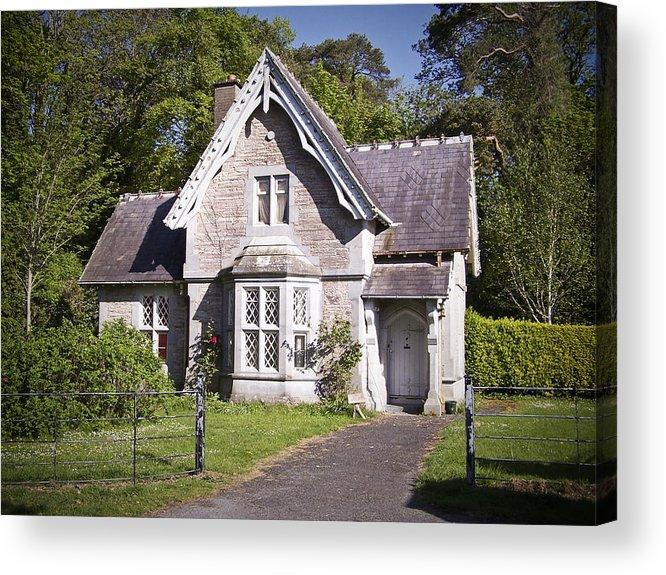 Irish Acrylic Print featuring the photograph Muckross Cottage Killarney Ireland by Teresa Mucha