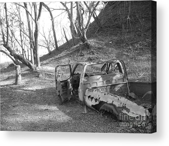 Truck Acrylic Print featuring the photograph My First Truck by Chad Natti