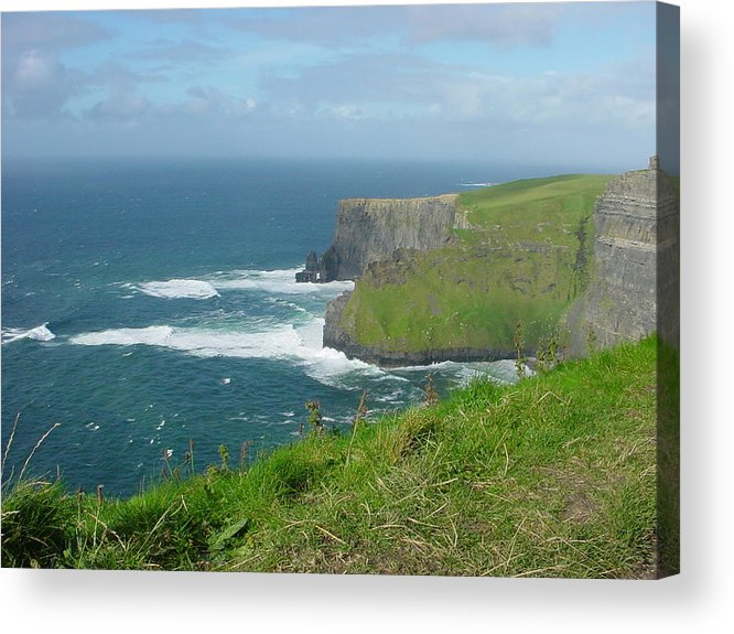Cliffs Of Mohr Acrylic Print featuring the photograph Mystical Cliffs by PJ Cloud